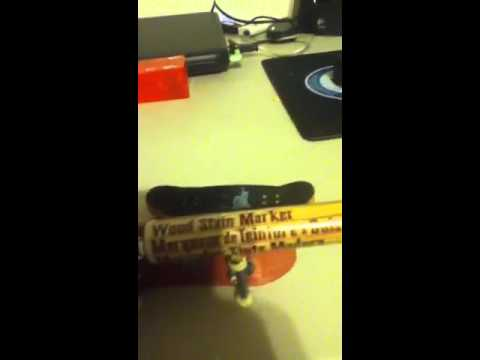 Homemade fingerboard review