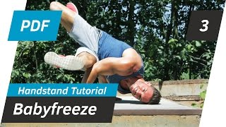 BABYFREEZE TUTORIAL | Handstand lernen 👐🏻 | Breakdance Tutorial | Andiletics