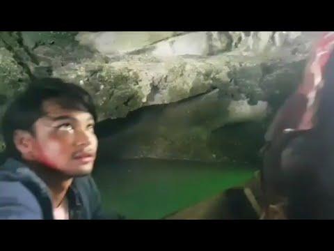 Syafiq Kyle & Hannah Delisha Menyusuri Gua Langsuir Di Langkawi Ketika Penggambaran Filem Langsuir