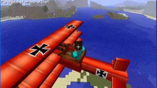 Minecraft - MOD LETADLA