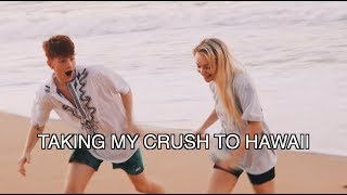TAKING MY CRUSH TO HAWAII..  (EPISODE 1)