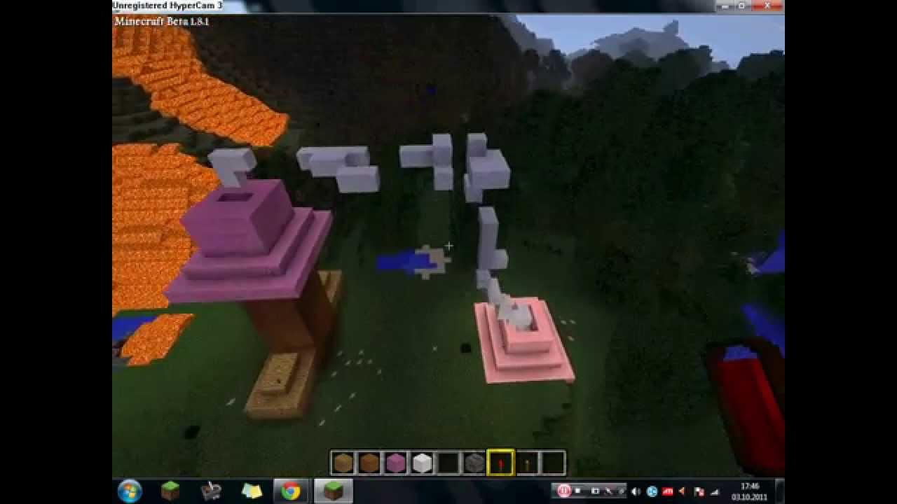 Riesen Minecraft Penis und Muschi - YouTube