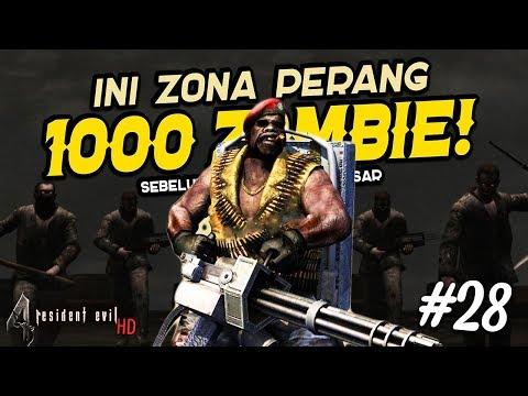 Masuk Zona Perang 1000 Zombie Sebelum Melawan Boss Terakhir! - Resident Evil 4 Hd 28