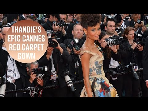 Thandie Newton's gown celebrates Black Star Wars actors
