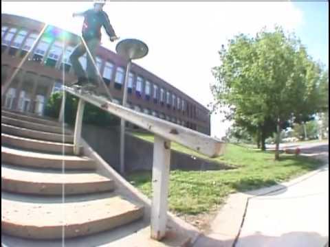 """Patrick Melcher in the Black Label skateboards video """"Blackout"""""""