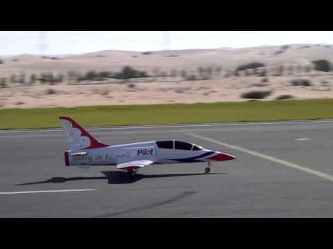 Pilot Rc Dolphin Jet Maiden (Kingtech 120G)