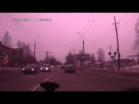 Внезапно. ДТП Великий Новгород, ул. Сенная 15.12.2013