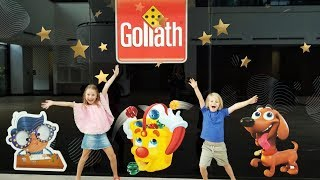 Our Visit to Goliath Games' Studio! Games Everywhere! #makeitgamedayeveryday
