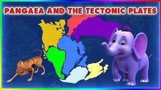 Pangaea And The Tectonic Plates (4K)