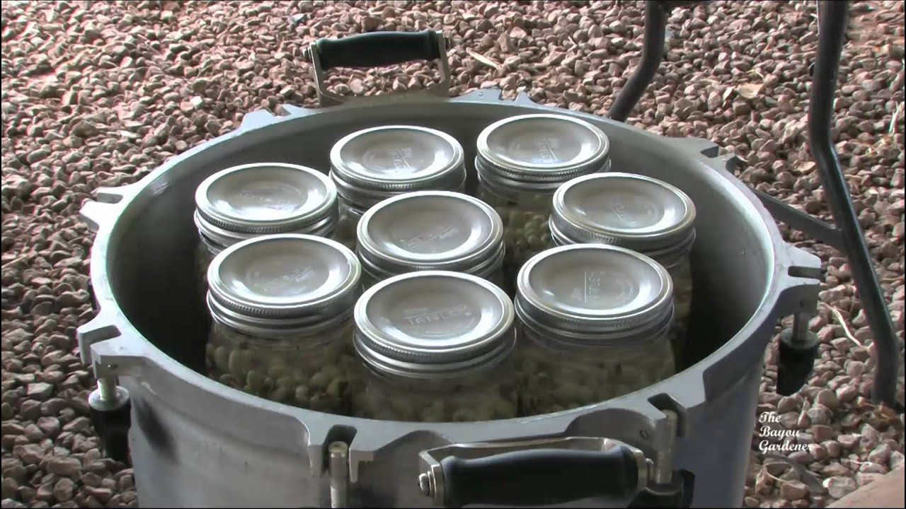 Canning purple hull peas august 2011 youtube