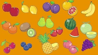 Learn Fruit Vocabulary | Talking Flashcards