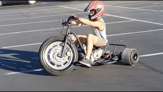 125cc BIG WHEEL DRIFT TRIKE BUILD PROJECT