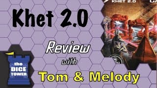 Khet 2.0: the Laser Game Review - with Tom and Melody Vasel
