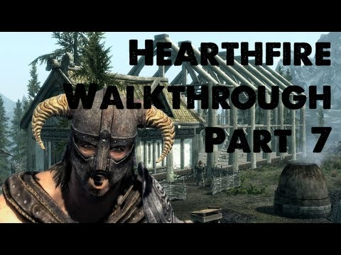 Skyrim Hearthfire Walkthrough Part 7 - Fish Hatchery?!