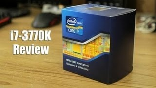 Intel Core i7-3770K Ivy Bridge 3.5GHz Processor Review | DIY Gaming PC Build