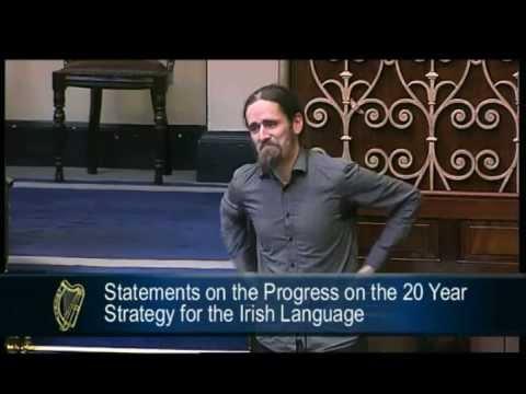 Future of The Irish Language - Luke Flanagan