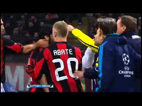 Gattuso vs. Joe Jordan + Flamini horror tackle