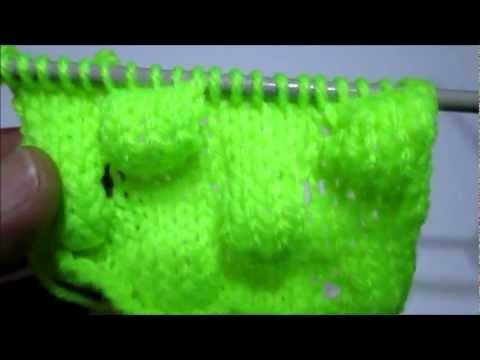 comment tricoter le point bulle
