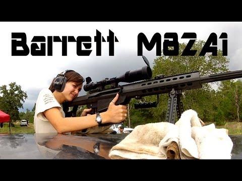 The Amazing .50 BMG (Barrett M82A1)