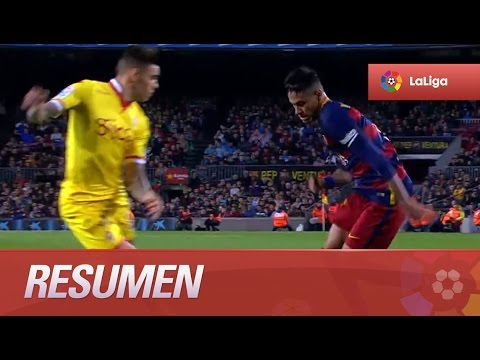 Resumen de FC Barcelona (6-0) Sporting de Gijón