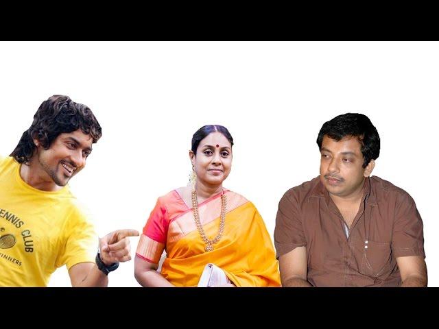 Saranya & Sathyan join their hands with Suriya for 24 | 123 Cine news | Tamil Cinema News