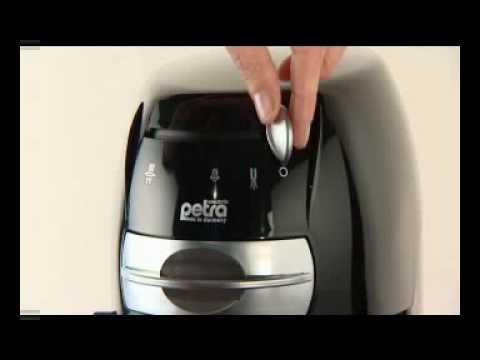 petra kaffeepadmaschine km 42 youtube. Black Bedroom Furniture Sets. Home Design Ideas