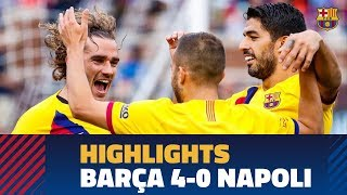 FC Barcelona - SCC Napoli (4-0) HIGHLIGHTS