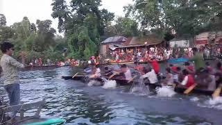 নৌকা বাইচ মানিকগঞ্জ কলতা বাজার