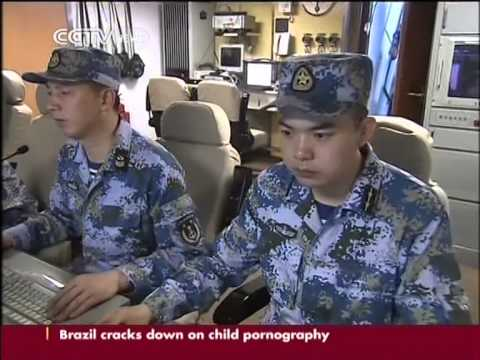 Live-fire drill on day 3 of China-Russia joint naval exercise