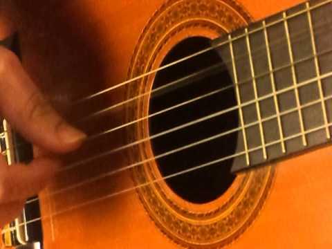Μαθήματα Κιθάρας: Kansas, Dust In The Wind. Το άρπισμα στο δεξί χέρι