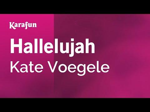 Karaoke Hallelujah - Kate Voegele *