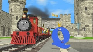 Learn about the Letter Q - The Alphabet Adventure With Alice And Shawn The Train