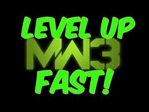 MW3-How To Level Up Quick And Prestige In 1 Day *Voice Tutorial*