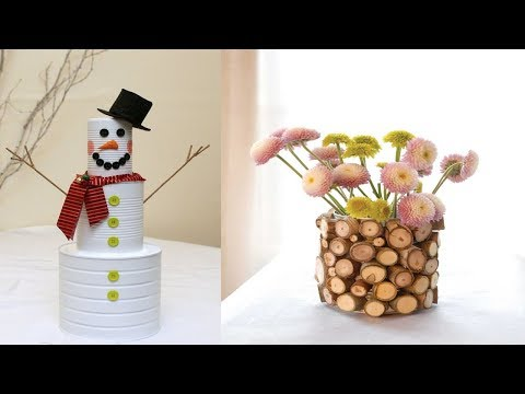 DIY Recycled Tin Can Craft | 70 Cool Ideas