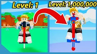 I Reached Max Height In Roblox Pogo Simulator