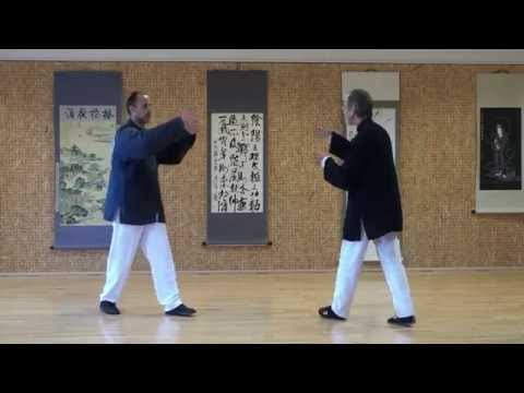 Tai Chi 2 man set San Shou Yin François Hainry (Disciple direct de YOU Xuan De) ABTCC 24 Image 1