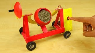 How to Make a Cement Mixer - DIY Realistic Miniature Cement Mixer