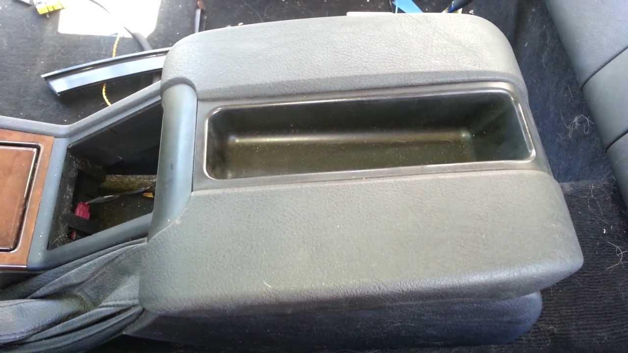 Bmw E39 M5 Center Console Arm Rest Removal E39 540i 530i 525i Youtube
