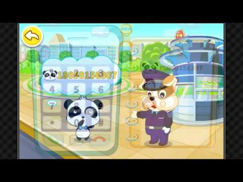 Travel Safety Tips For Kids /Baby Panda Games For Kids