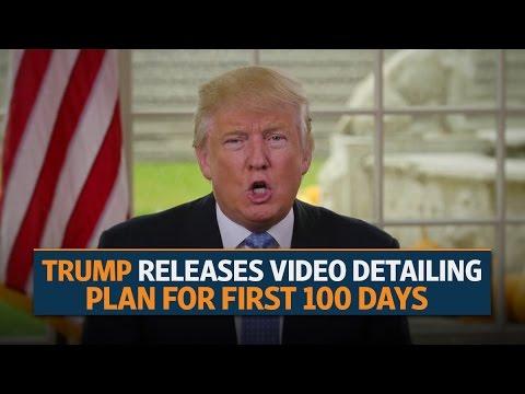 politics donald trump public gives marks first days news