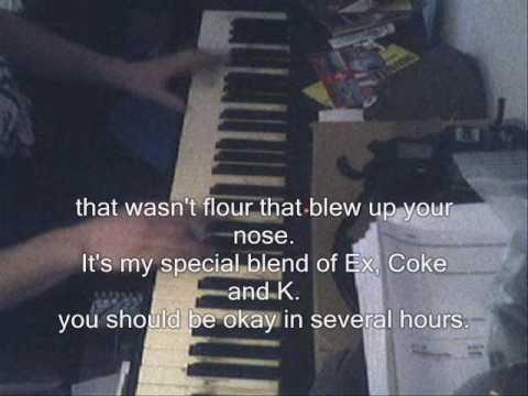 Cokie The Clown - NOFX - piano cover w. lyrics