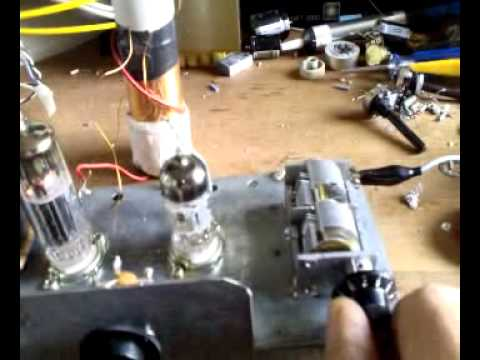 Ham Radio tube homebrew: MW Reaction Receiver.mp4