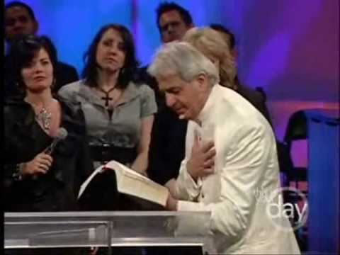 Benny Hinn - They Whipped Him For Your Diseases