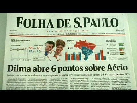 Élections brésiliennes : Dilma Roussef a le vent en poupe