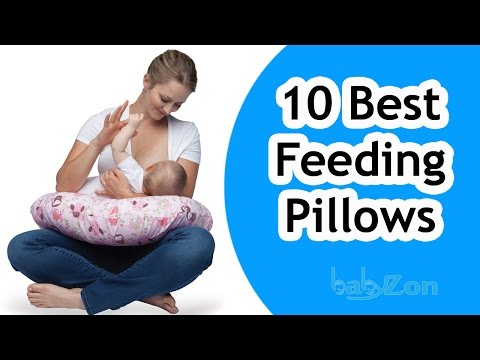 Best Feeding Pillows 2016 - Top 10 Breastfeeding Pillow Reviews