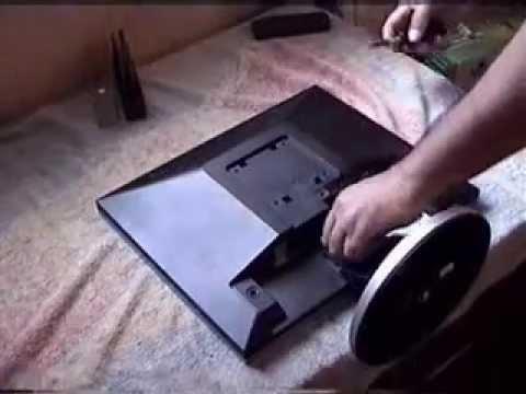 Cómo abrir y reparar un monitor LCD Samsung 740N