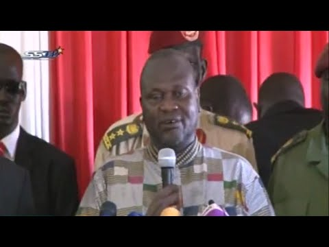 Machar sworn-in as South Sudan's First Vice-President