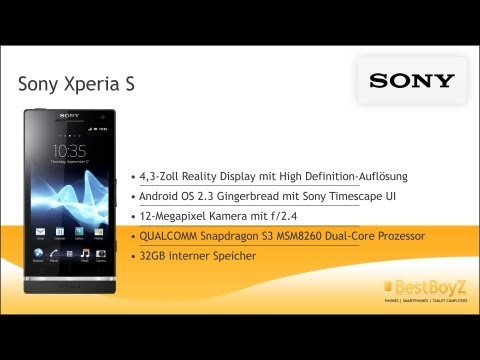 Review: Sony Xperia S   BestBoyZ