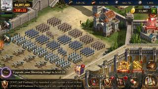 GUNS OF GLORY! Troop formation and speed training!