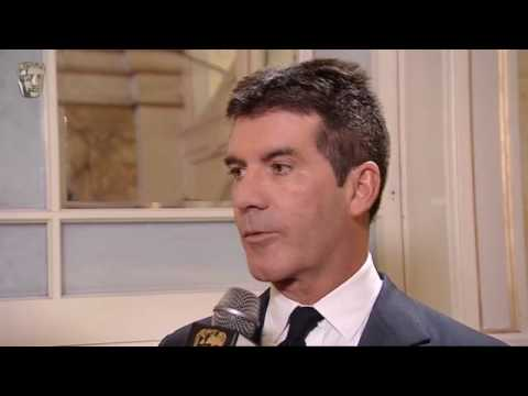 Simon Cowell BAFTA - TV Awards winners